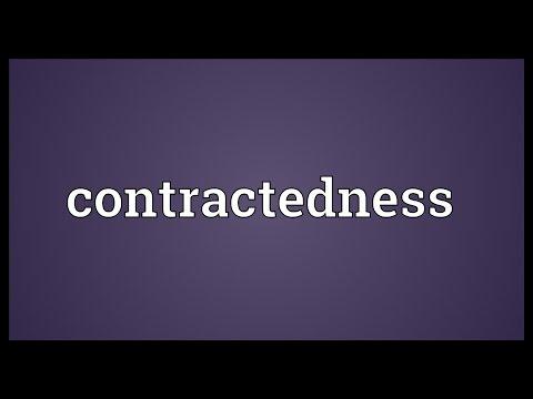 Header of contractedness