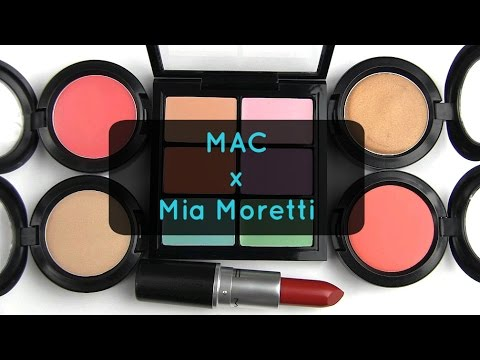 MAC Mia Moretti Collection: Live Swatches & Review