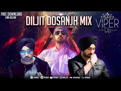Diljit Dosanjh Mix | Viper DJs | Kiran Rai | Non - Stop Hits | Free Download