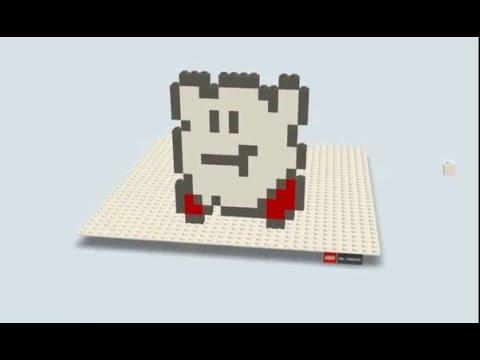 レゴ  カービィ Build with Chrome LEGO 레고 만들기 : 커비 Kirby (カービィ, Kābī)