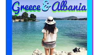 Macedonia, Albania & Greece ✈︎ VLOG | Юни 2016