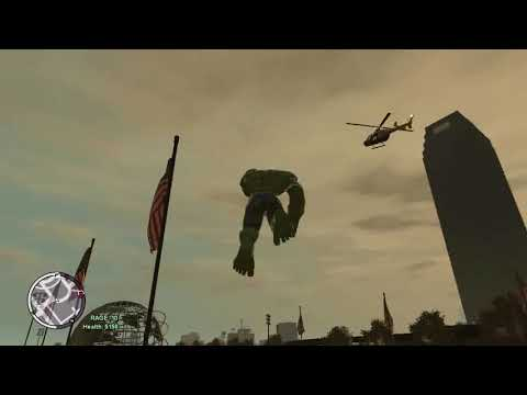Tsunami vs The Hulk GTA IV
