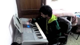 TUJHE DEKHA TO YE JANA SANAM ON PIANO BY SATYAM
