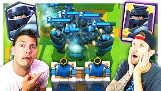 DESTROYING 2v2 WITH... MEGA KNIGHTS?! // CLASH ROYALE