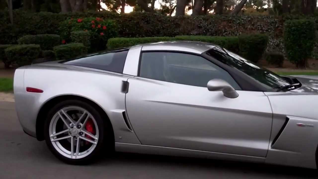 SOLD C6 2006 Silver Corvette Z06 for 4 sale by Corvette ...