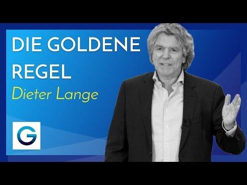 Die goldene Regel der Selbstständigkeit // Dieter Lange