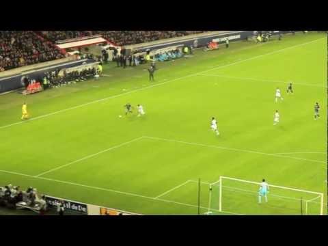 PSG - OM (2-0) 31/10/2012 BUT THIAGO SILVA & Ambiance tribune  ici c'est Paris coupe de la ligue HD