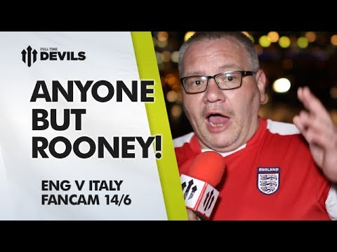 Anyone But Rooney! | England 1 Italy 2 | World Cup Brazil 2014