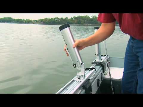 Cannon Trolling Systems With Track Amp Rod Mounts Youtube