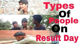 Types Of People On Result Day | Technicalcounting | 2018
