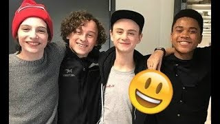 IT Movie Cast😊😊😊 - Finn, Jack, Wyatt and Jaeden CUTE AND FUNNY MOMENTS 2018