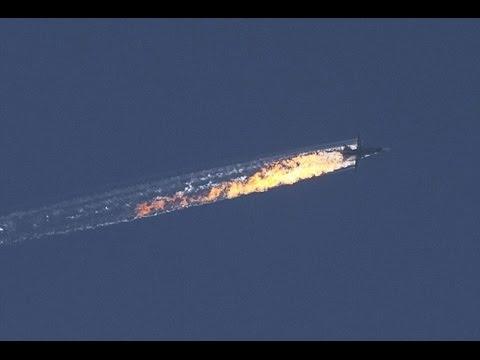 Turkey shoots down Russia's Sukhoi SU-24 near Syrian Border