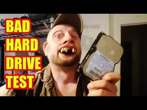 Testing Bad Hard Drives