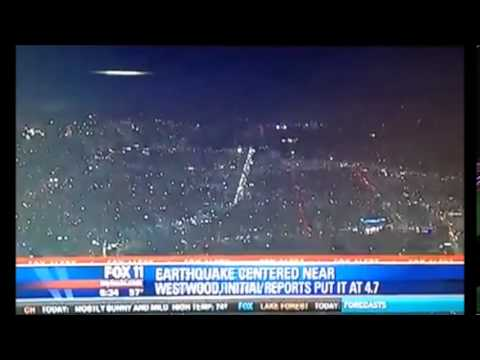 UFO caught on camera by News Crew