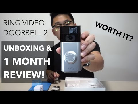 Ring Video Doorbell 2 - Unboxing and After 1 Month Review! (worth it?)