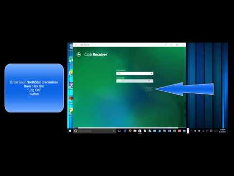 Installing and Configuring Citrix Receiver from the Windows 10 App Store