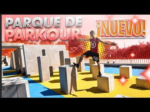 Estrenamos NUEVO PARQUE DE PARKOUR😍 (en Almería)
