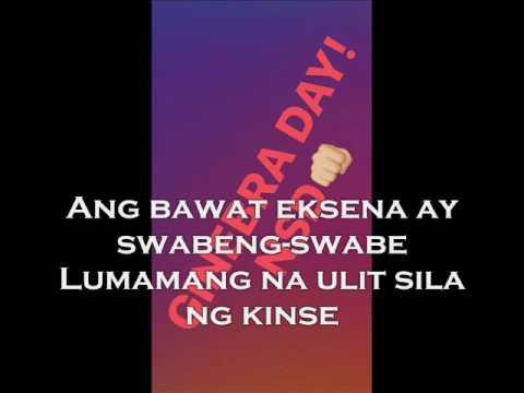 Sana Manalo ang Ginebra ( With Lyrics )