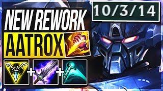 AATROX REWORK + ESSENCE REAVER = GOD-TIER JUNGLER!! Aatrox Jungle Gameplay   League of Legends
