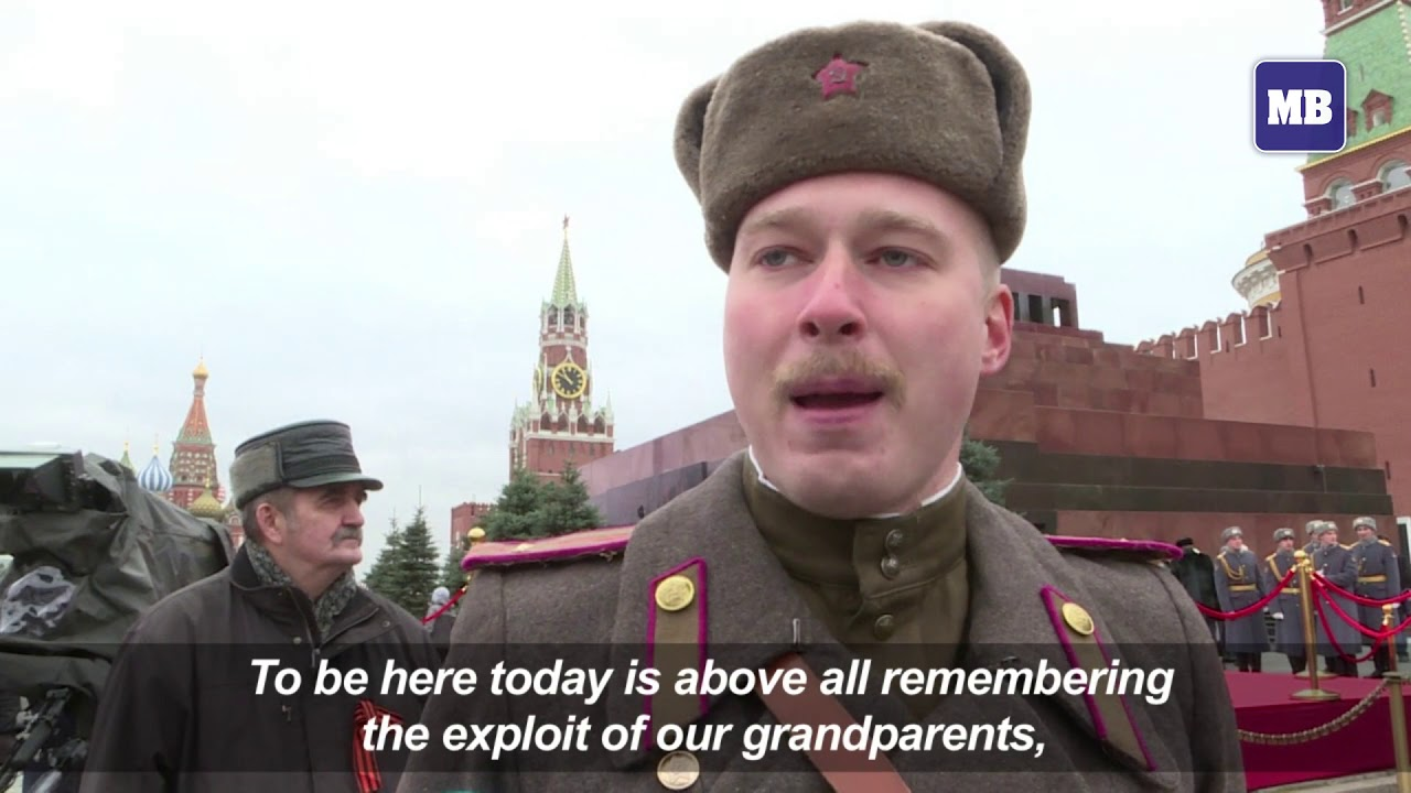 Russia: Communist Party marks 100 years since revolution