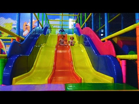 Игровая комната! Развлечения для детей и игровой комнате! Kids Indoor Playground Fun Play Place