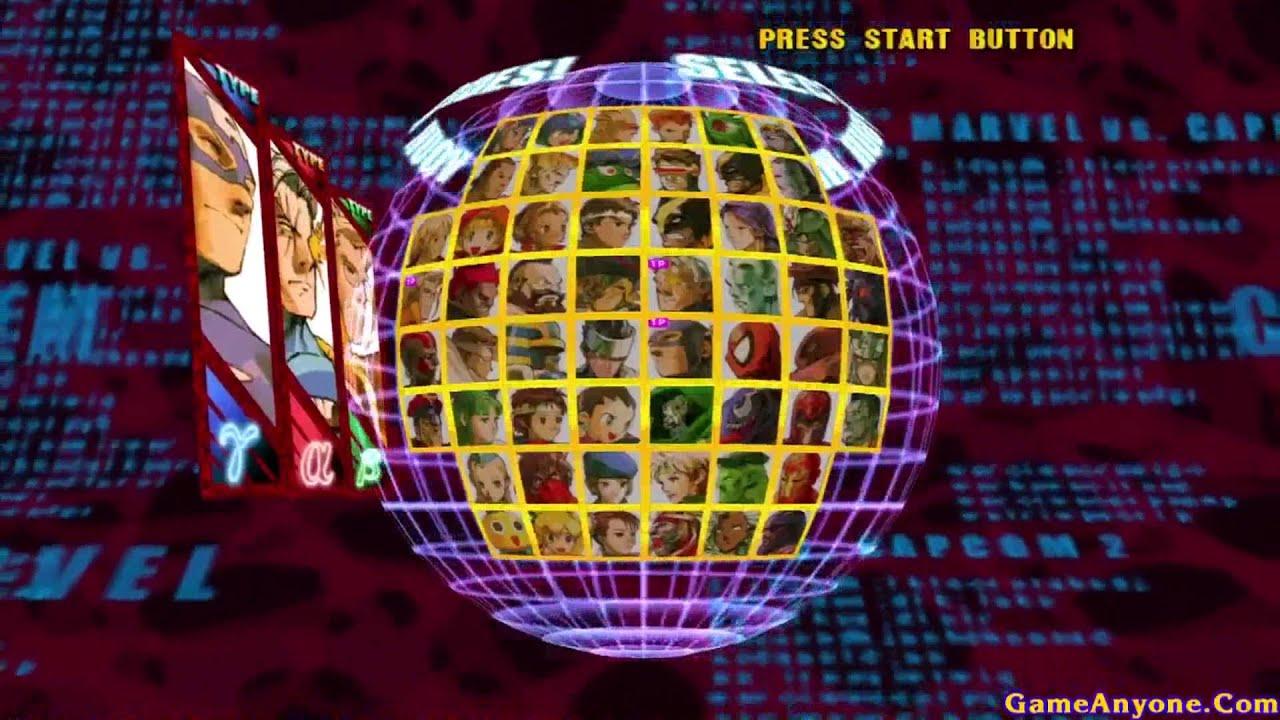 Marvel Vs Capcom 2 New Age Of Heroes Easy Mode