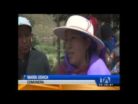 Cuatro personas fueron parte de una purificación en Chimborazo