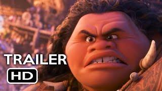 Moana Official Trailer #1 (2016) Dwayne Johnson Animated Movie HD