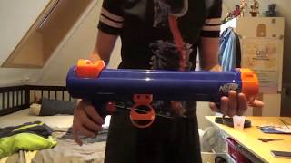 nerf unboxing and review: nerf dog tennisbal blaster (van bol.com)