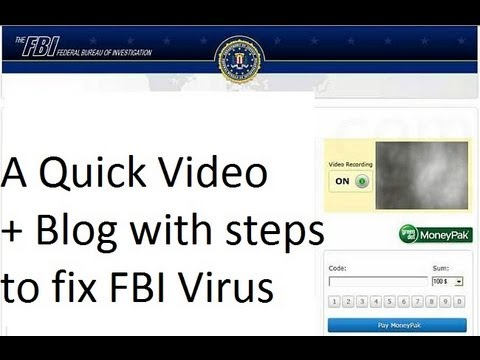 How to Remove FBI Virus | 3 minutes Guide + Blog | Get your Computer Unlocked from Ransomware