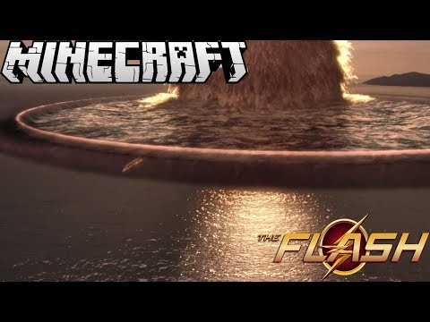 The Flash's Powers In Minecraft!!!    Minecraft Speedster Heroes Mod Review