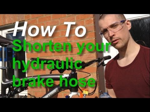 HOW TO SHORTEN YOUR HYDRAULIC BRAKE HOSE