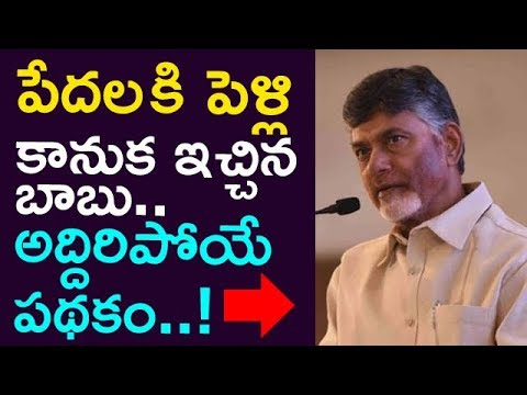 Babu Gave Marriage Gift To Poor People.. ! Extra Ordinary Scheme ! || Taja30