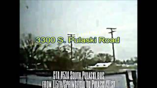 Renew video: CTA #53A South Pulaski bus from 115th/Springfield to 31st Street 3 (02-11-16)