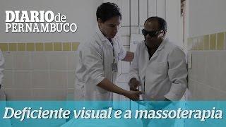 Deficientes visuais s�o qualificados para atuar como massoterapeutas
