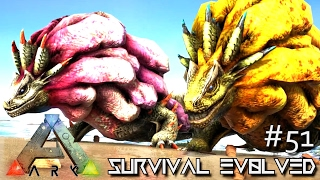 ARK: SURVIVAL EVOLVED - NEW MONSTER ROYAL LUDROTH TAMING !!! E51 (MODDED ARK EXTINCTION CORE)