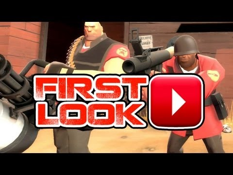 Team Fortress 2 Gameplay Commentary - First Look HD