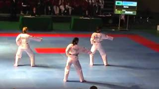 2nd WC Poomsae 2007 Incheon   Team II Female Finale Pyongwon + Chonkwon  Australia