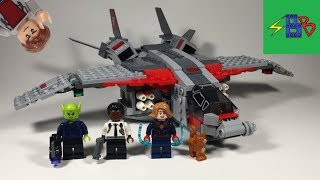 Lego 76127 Captain Marvel and the Skrull Attack Review