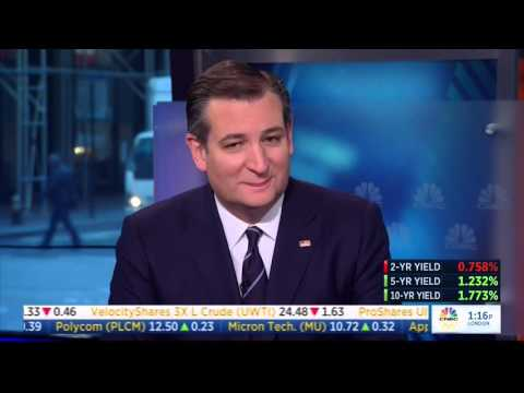 Ted Cruz on CNBC's Squawkbox | April 15, 2016