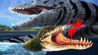 NOVO DINOSSAURO: Família Elasmosauros, Kronossauros! Monstro Marinho   Beasts of Bermuda   (PT/BR)