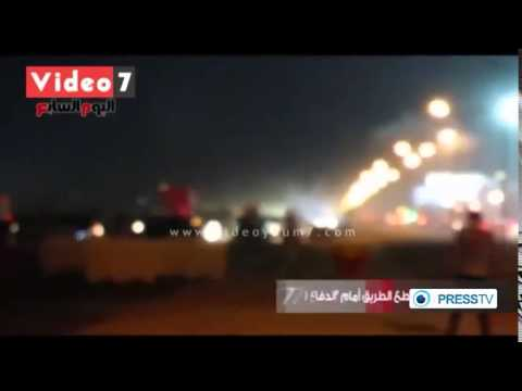 [RAW] EGYPT FOOTBALL RIOT At Cairo Stadium - 40 Killed