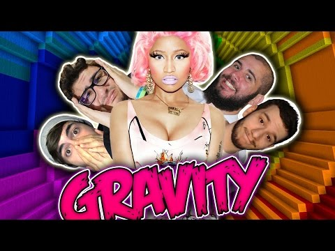 IL CUL* DI NICKI MINAJ - Minecraft GRAVITY ITA W/ TearlessRaptor TheMark JacoRollo