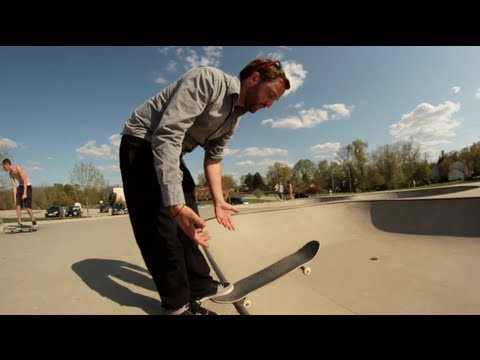 How To Drop In On A Skateboard Like A Boss!