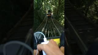 Chơi xe máng trượt ở thác datanla tại Đà Lạt 2018 / Cùng lũ bạn