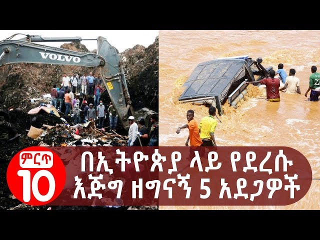 5 Events That Occurred In Ethiopia