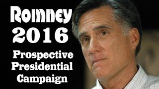 Mitt the Twit is back Romney 2016