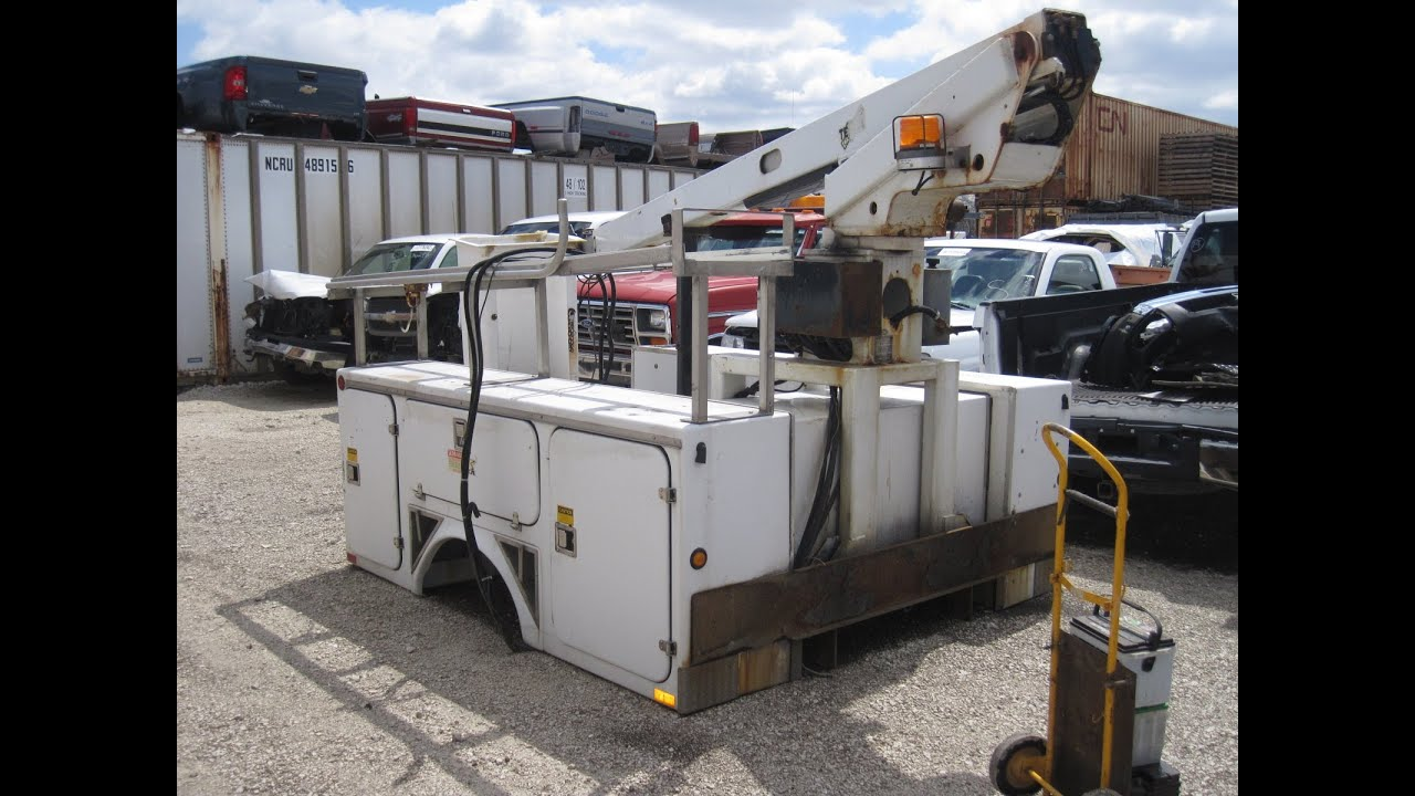 Utility Truck Beds For Sale