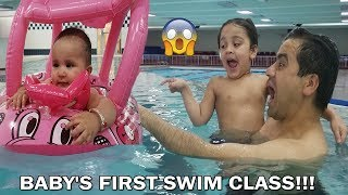 Kid swimming in the pool | Family Fun Pack Pool Time | Kids swimming lessons | Jai Bista Show