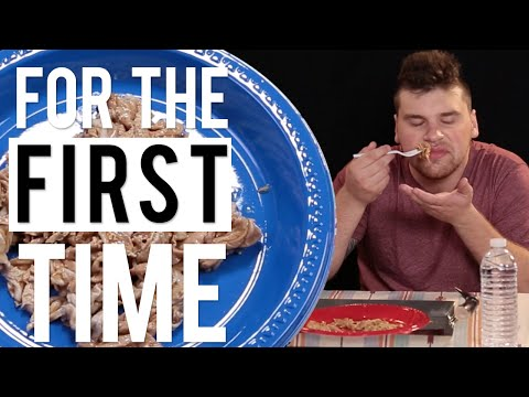 White People Try Black People Food 'For the First Time'